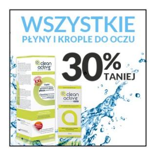 Liquids and eyedrops 30% discount!